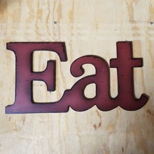 Wall Eat sign